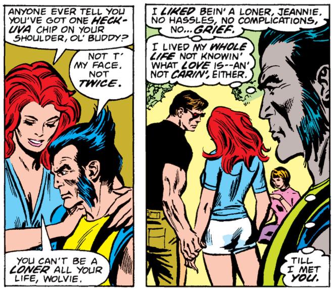 Wolverine, Jean Grey e Ciclope