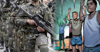 Militares brasileiros estão perseguindo crianças mutantes em nova HQ dos X-Men